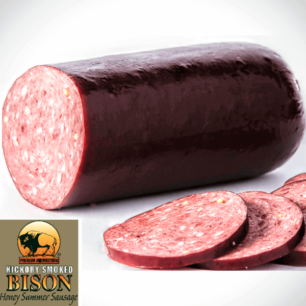 Bison Honey Summer Sausage 10oz