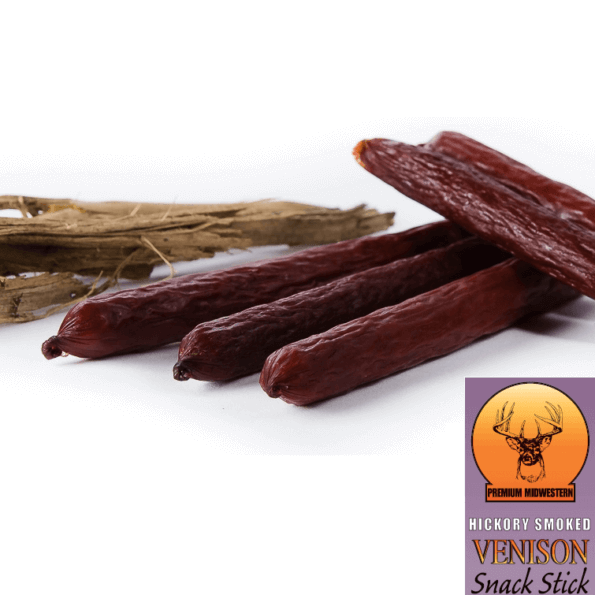 Venison Hickory Smoked Stick 1oz